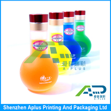 Adhesive waterproof labels and stickers,custom cosmetics label sticker printing with free sample