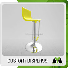 2015 oem new products promotional bar stool plastic