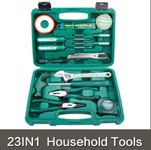 "23pcs Promotional Tool Sets Household Set Hand Tools Professional 1/4""&1/2"" Socket Set"