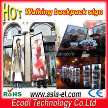 Portable outdoor led signs/Rechargeable battery powered led sign