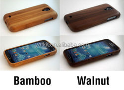 Natural Bamboo Walnut Wooden Wood Case Back for Samsung Galaxy S4