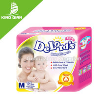 Dry and quick absorbtion sleepy baby diapers with economic price