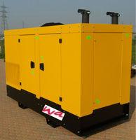 72/82 kVA Natural Gas / LPG Generator, new, with original GM engine, made in EU, sounproofed canopy