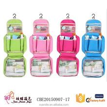 Custom Foldable Women Fashion Hanging Travel Toiletry Bag