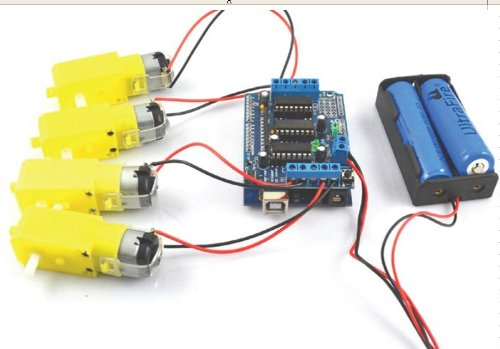 L293d Motor Drive Shield Expansion Control Board For Mcu