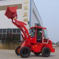0.8 ton mini granja tractor con pala cargadora frontal