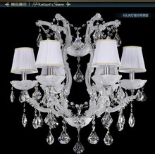 2015 Contemporary Lustre Crystal Chandelier Light Sale with 3 Year Warranty and K9 Crystal CCVN8243