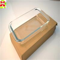 Cheap Oven Safe Rectangular pyrex Glass Baking Dish / pan