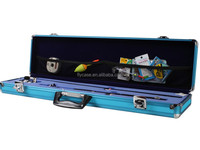 2014 aluminum golf box aluminum case with combination lock