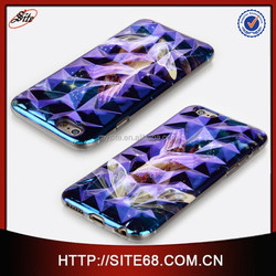 For iphone 6 case, Wholesale High quality custom made 3D sublimation phone case for iphone 6 case