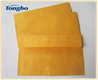 2015 new rose pattern C4 iridescent paper envelope
