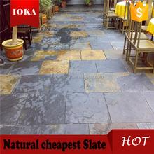 Outdoor Paving Stone Patio Slate Tiles