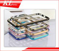 2015 mobile phone case for iphone 6 aluminum bumper metal frame case