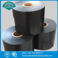 ASTMD1000 pe pipe wrapping tape for gas pipe
