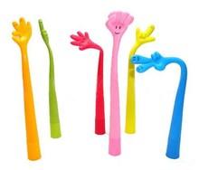 Hot Sale Fashion Soft novelty Design Soft Rubber Finger Pen