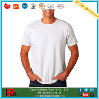 Customized cotton blank 1.00 t shirt white