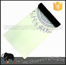 Factory price fast dry brand logo print custom yoga mat