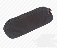Comfortable hidden travel waist stash passport document belt wallet