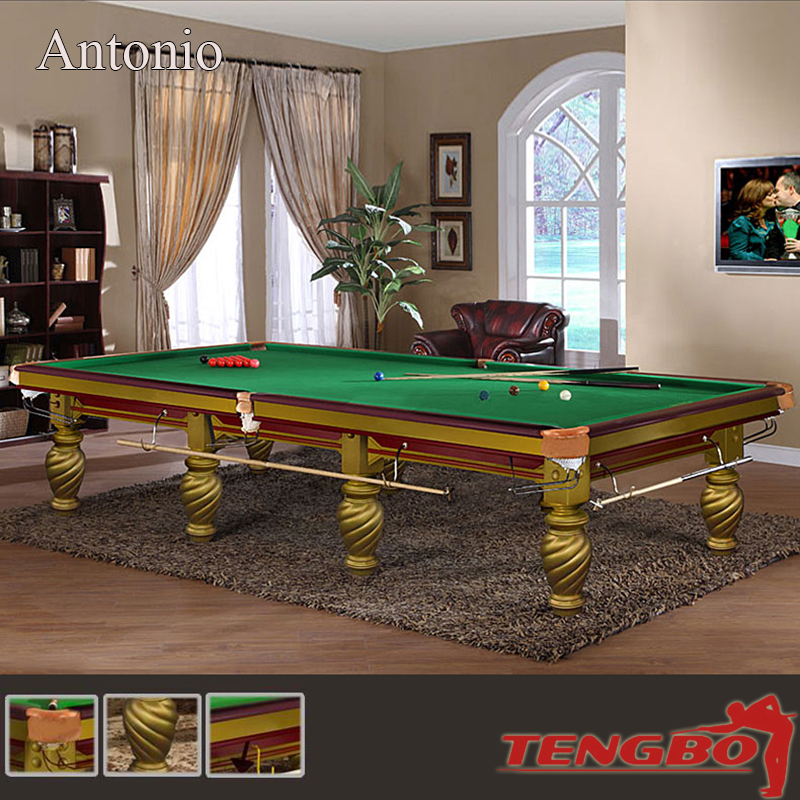 Tb antonio carving style natural slate full size snooker for 12ft snooker table for sale