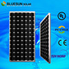 Best sell bluesun high efficiency low price Mono 200W china solar panels cost