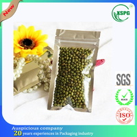 High quality compound dried food bag with one window clear