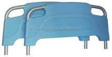 adjustable bed headboard simple abs headboard patient bed with 2 cranks SP-07
