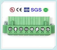High Qaulity PCB Control Block Connector 300V 15/12/10/8A 3.5mm/3.81mm/5mm/5.08mm/7.62mm