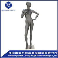 Big clearance sale!!!2014 fashion female abstract realistic window display mannequin
