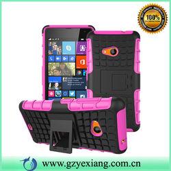 For Nokia Lumia 535 Case, PC TPU Combo Back Cover For Lumia 535