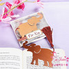 "Wedding Favors Event Gift Party Supplies Baby Shower Gifts ""Lucky India Elephant"" Shaped Metal Bookmark Favors"