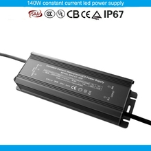 Manufacturing TUV SAA CE approved aluminum housing DC28 - 38V 1500ma 50w IP67 waterproof electronic led driver