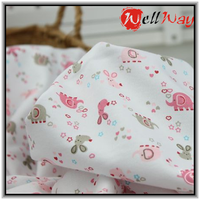 wholesale japanese custom printed cotton baby fabric