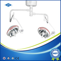 Ceiling mounted halogen operating theatre light