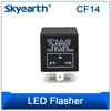 Led Flasher Unit CF14 JL-02 Flasher For LED 12V 0.02A-20A Lasher European Cars Only LED