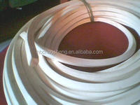 silicone foam rubber seal strip for gas seal