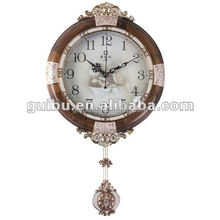 Vintage Home Interior Antique Pendulum Wall Clock,Old Style Wall Clock