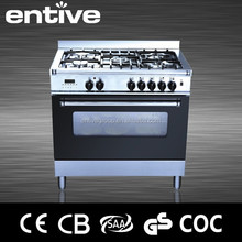 freestanding gas range oven with digital timer