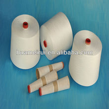 40S/2 raw white TFO 100%polyester yarn for sewing thread on paper cone