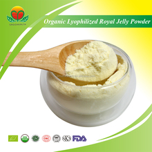 Manufacture Supply Organic Lyophilized Royal Jelly
