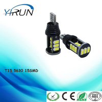 Car Styling Canbus Car LED T15 5630 15SMD Backup Light Rear Lamp Parking light