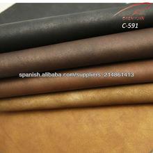 C-591 piel sintética para zapatos de hombre