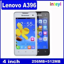 Cheap Lenovo A396 SC8830A Quad core 1.2GHz Cellphone Dual SIM 4 inch Android 3G Mobile Bluetooth Russian Language Smartphone