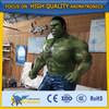 Cetnology Fascinating Cartoon Figure The Incredible Hulk Fiberglass FRP Amusement Park Cartoon Character Sculpture