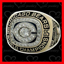 Football World Chicago Bears championship ring