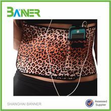 Adjustable back support velcro neoprene waistband slimming belt