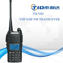 TD-V80 walkie talkie made in china portable industrial analog radio phone