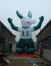 giant customized design inflatable characters rabbit
