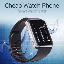 cheap price touch screen android smart watch phone with CE ROHS FCC