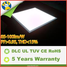 100lm per watt square led panel light for commercial lighting