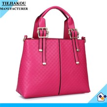 New products ladies leather fashionable designer handbag hand bags factory